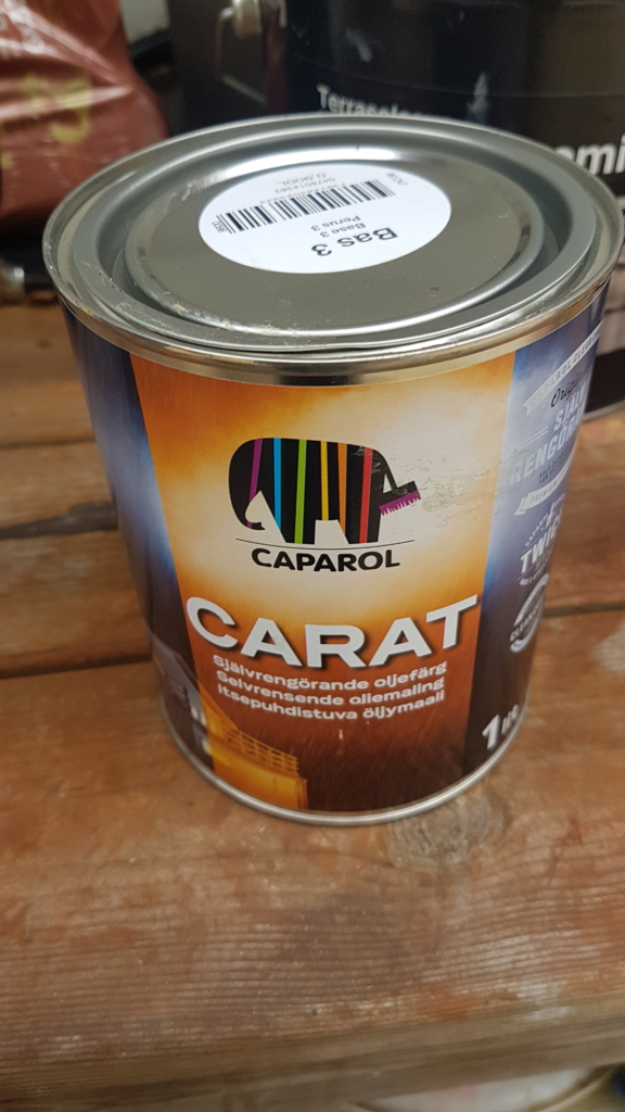 caparol paint for bikestand