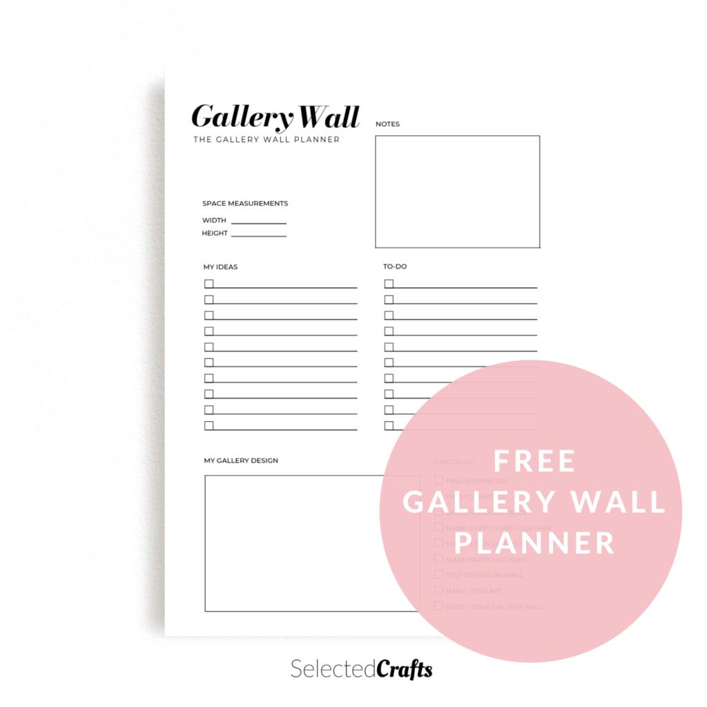 Galler wall planner freebie