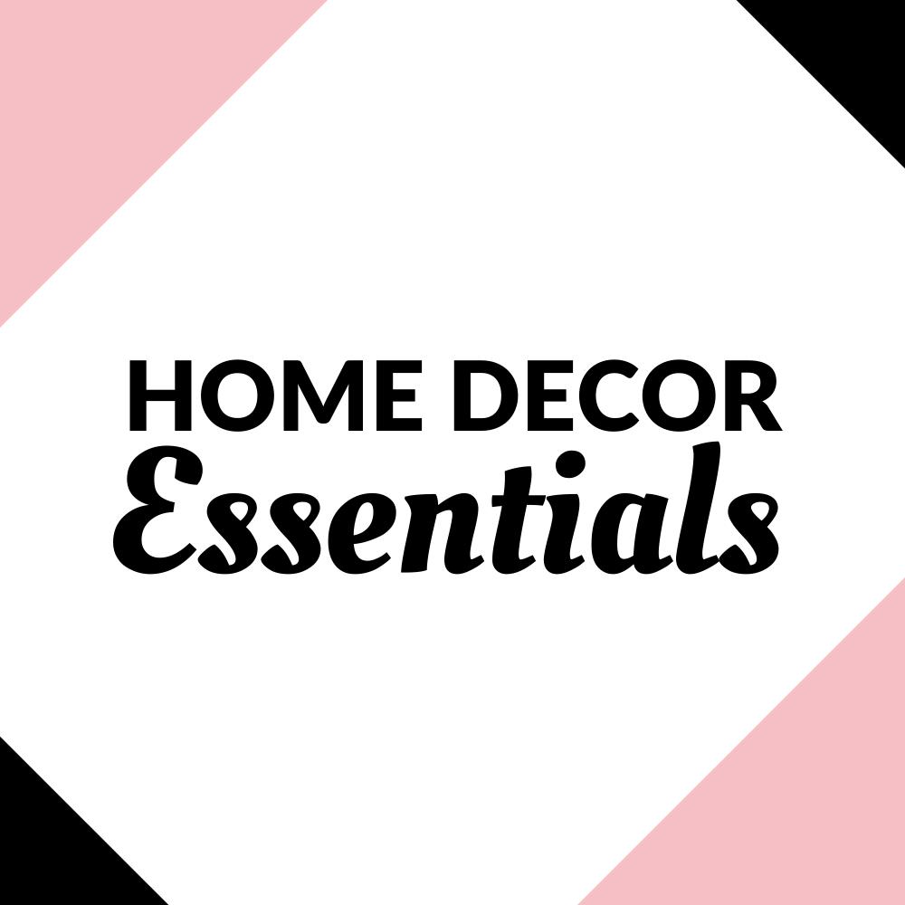 Home Decor Essentials Graphic